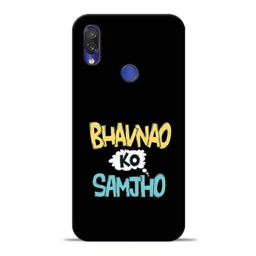 Bhavnao Ko Samjho Redmi Note 7 Mobile Cover