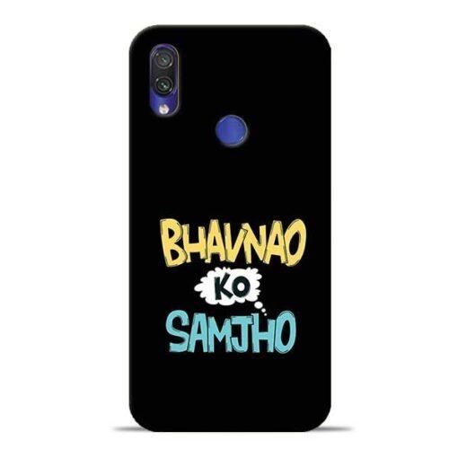 Bhavnao Ko Samjho Redmi Note 7 Pro Mobile Cover
