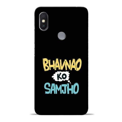Bhavnao Ko Samjho Redmi Y2 Mobile Cover