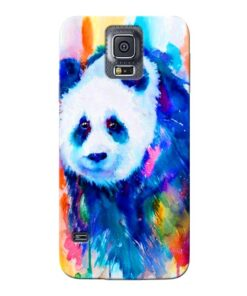 Blue Panda Samsung Galaxy S5 Mobile Cover