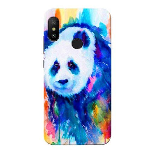 Blue Panda Xiaomi Redmi 6 Pro Mobile Cover