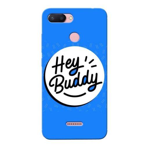Buddy Xiaomi Redmi 6 Mobile Cover