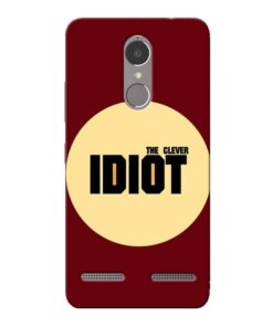 Clever Idiot Lenovo K6 Power Mobile Cover