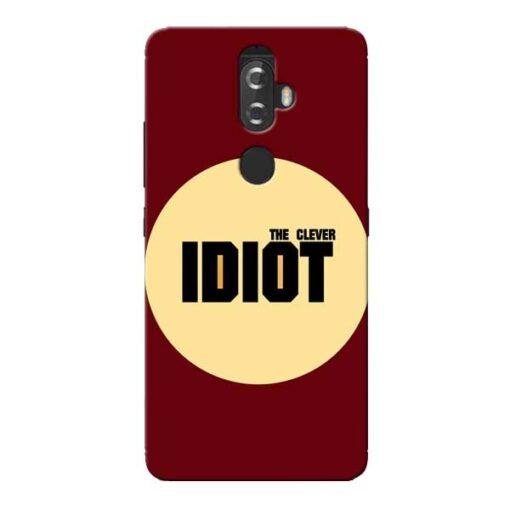 Clever Idiot Lenovo K8 Plus Mobile Cover
