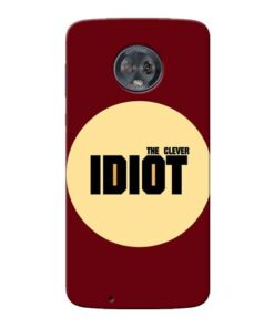 Clever Idiot Moto G6 Mobile Cover