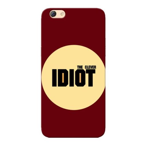 Clever Idiot Oppo F3 Mobile Cover