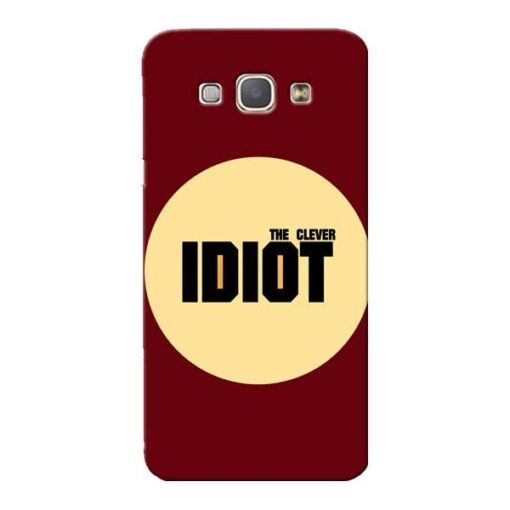 Clever Idiot Samsung Galaxy A8 2015 Mobile Cover