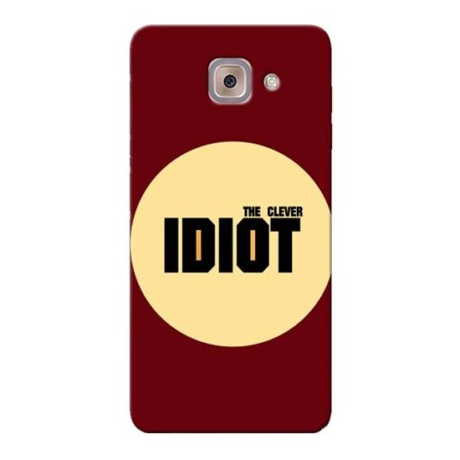 Clever Idiot Samsung Galaxy J7 Max Mobile Cover