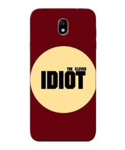 Clever Idiot Samsung Galaxy J7 Pro Mobile Cover