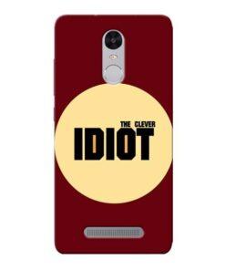Clever Idiot Xiaomi Redmi Note 3 Mobile Cover