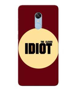 Clever Idiot Xiaomi Redmi Note 4 Mobile Cover
