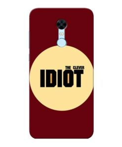 Clever Idiot Xiaomi Redmi Note 5 Mobile Cover