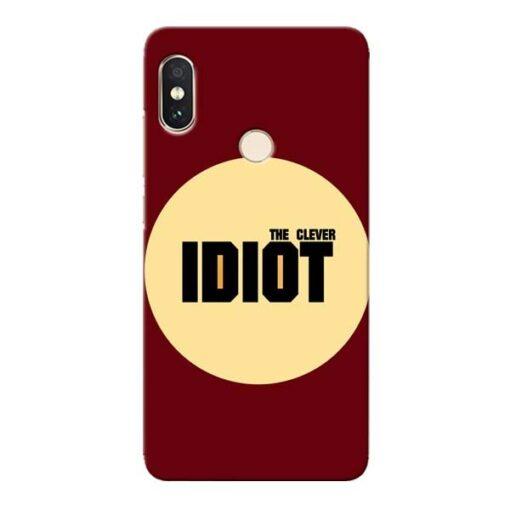 Clever Idiot Xiaomi Redmi Note 5 Pro Mobile Cover