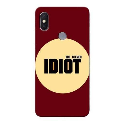 Clever Idiot Xiaomi Redmi Y2 Mobile Cover