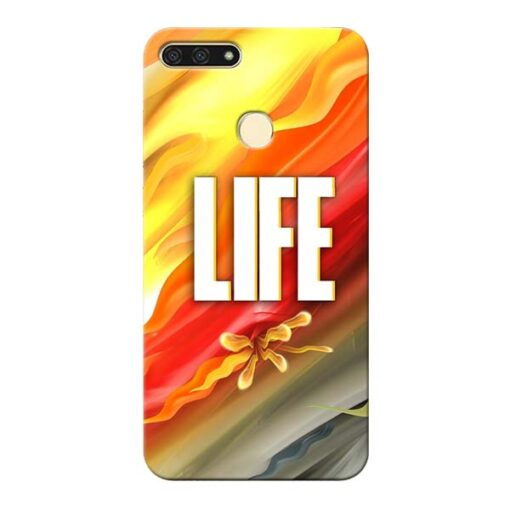 Colorful Life Honor 7A Mobile Cover