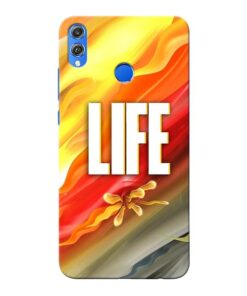Colorful Life Honor 8X Mobile Cover