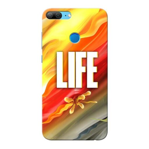 Colorful Life Honor 9 Lite Mobile Cover