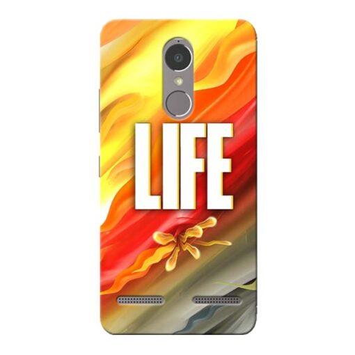 Colorful Life Lenovo K6 Power Mobile Cover