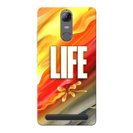 Colorful Life Lenovo Vibe K5 Note Mobile Cover