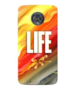 Colorful Life Moto G6 Mobile Cover