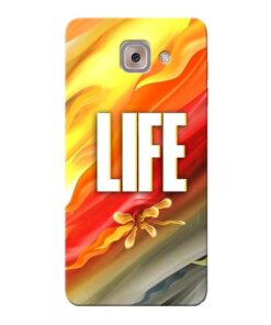 Colorful Life Samsung Galaxy J7 Max Mobile Cover