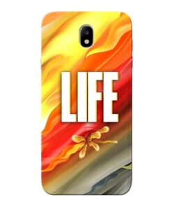 Colorful Life Samsung Galaxy J7 Pro Mobile Cover