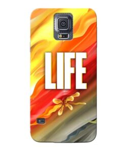 Colorful Life Samsung Galaxy S5 Mobile Cover