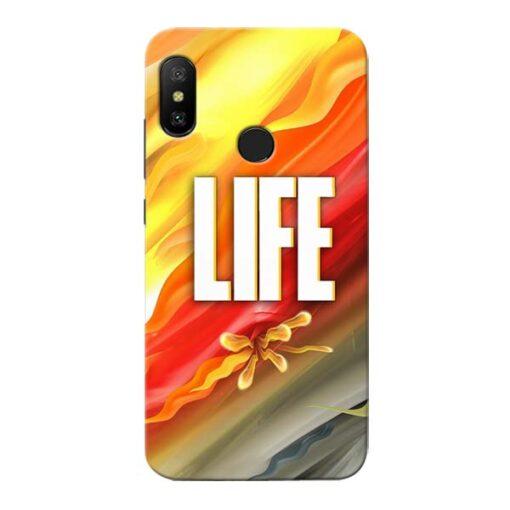Colorful Life Xiaomi Redmi 6 Pro Mobile Cover