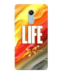 Colorful Life Xiaomi Redmi Note 4 Mobile Cover