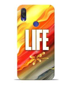 Colorful Life Xiaomi Redmi Note 7 Mobile Cover