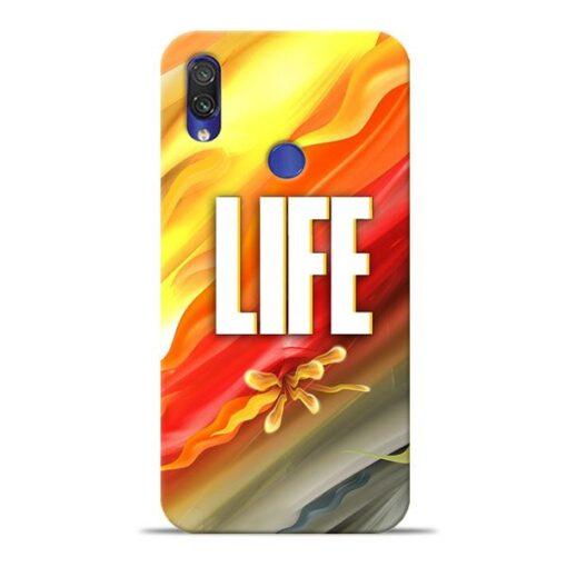 Colorful Life Xiaomi Redmi Note 7 Pro Mobile Cover