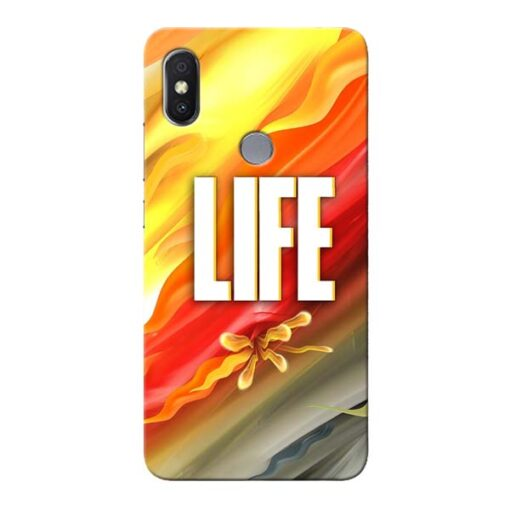Colorful Life Xiaomi Redmi Y2 Mobile Cover