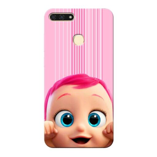 Cute Baby Honor 7A Mobile Cover