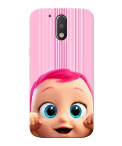 Cute Baby Moto G4 Mobile Cover