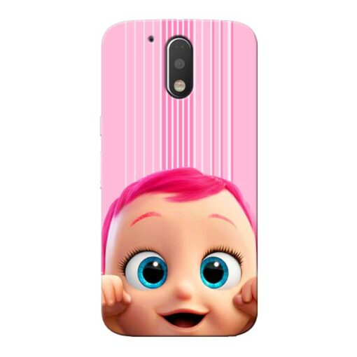 Cute Baby Moto G4 Plus Mobile Cover