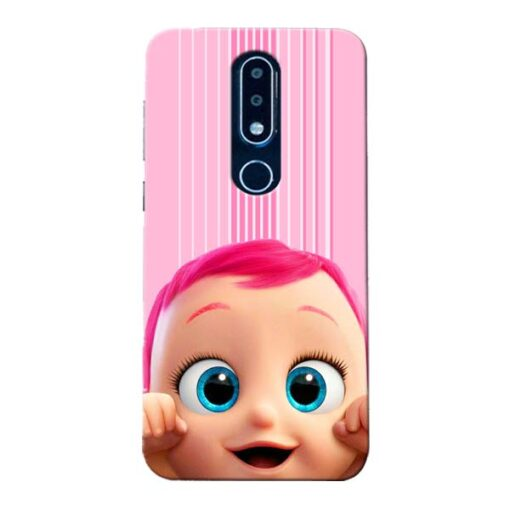 Cute Baby Nokia 6.1 Plus Mobile Cover