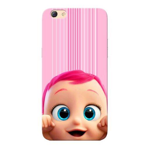 Cute Baby Oppo F3 Mobile Cover
