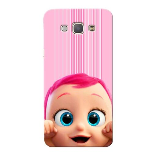 Cute Baby Samsung Galaxy A8 2015 Mobile Cover