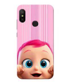 Cute Baby Xiaomi Redmi 6 Pro Mobile Cover