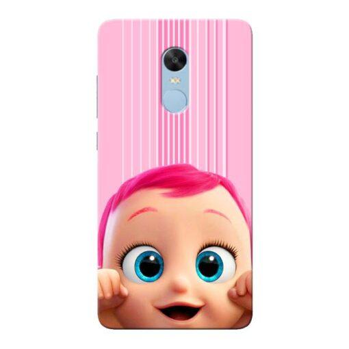 Cute Baby Xiaomi Redmi Note 4 Mobile Cover