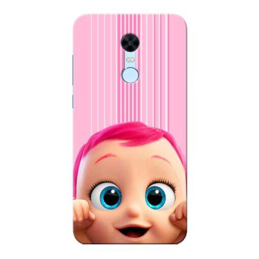 Cute Baby Xiaomi Redmi Note 5 Mobile Cover