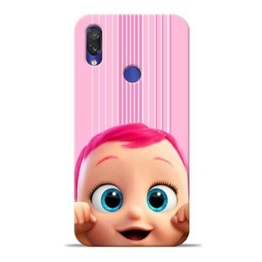Cute Baby Xiaomi Redmi Note 7 Mobile Cover