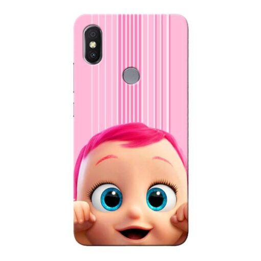 Cute Baby Xiaomi Redmi S2 Mobile Cover