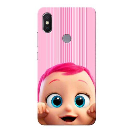 Cute Baby Xiaomi Redmi Y2 Mobile Cover