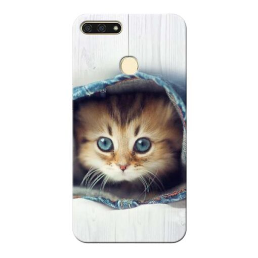 Cute Cat Honor 7A Mobile Cover