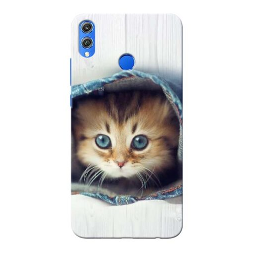 Cute Cat Honor 8X Mobile Cover