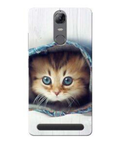 Cute Cat Lenovo Vibe K5 Note Mobile Cover