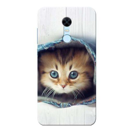 Cute Cat Xiaomi Redmi Note 5 Mobile Cover