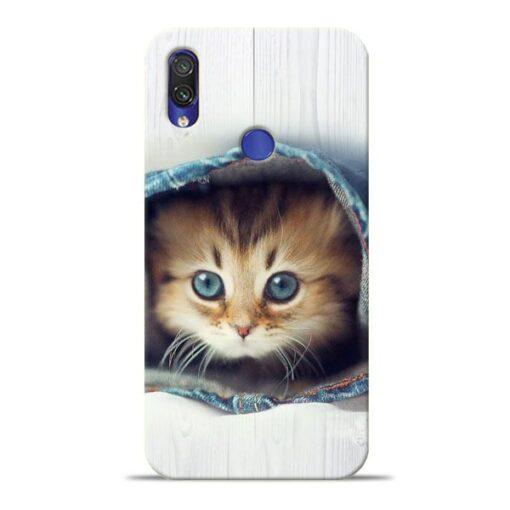 Cute Cat Xiaomi Redmi Note 7 Pro Mobile Cover