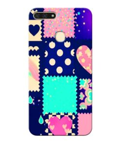 Cute Girly Honor 7A Mobile Cover